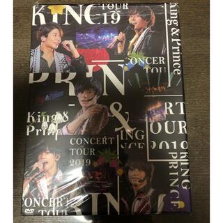 ジャニーズ(Johnny's)のKing &Prince CONCERT DVD 2019 初回限定盤 傷あり (ミュージック)