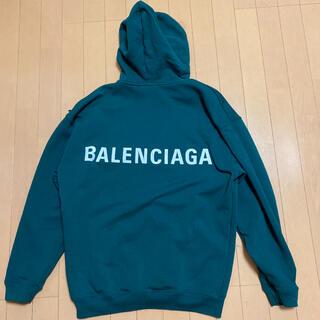 Balenciaga - BALENCIAGA 本物 バレンシアガ パーカー フーディ 正規品 国内正規品