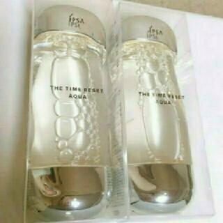 イプサ(IPSA)のIPSA イプサ 新品 ザ・タイムR アクア 化粧水 2本(化粧水/ローション)