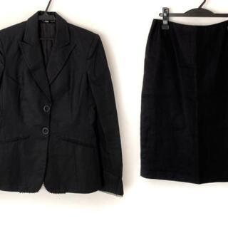 ジャンフランコフェレ(Gianfranco FERRE)のジャンフランコフェレ スカートスーツ - 黒(スーツ)