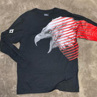 マルセロブロン(MARCELO BURLON)のMARCELO BURLON シャツマルセロブロン ロンT 黒(Tシャツ/カットソー(七分/長袖))