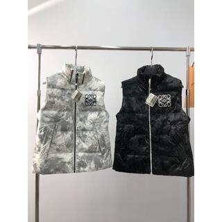 ロエベ(LOEWE)のloewe雪山ダウンジャケットチョッキ  2色(ダウンジャケット)