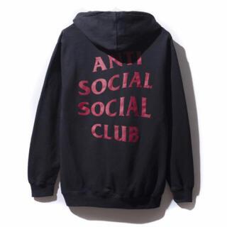 ANTI - anti Social Social club 黒色 パーカー
