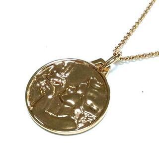 トリーバーチ(Tory Burch)のトリーバーチ ネックレス美品  - 金属素材(ネックレス)