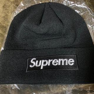 Supreme - Supreme ビーニー NEW ERA ニット帽 ボックスロゴ