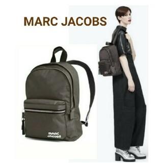 マークジェイコブス(MARC JACOBS)の超美品 マークジェイコブス リュック バックパック 完売色グレー 正規品(リュック/バックパック)