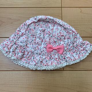 マザウェイズ(motherways)の【マザウェイズ】50cm花柄帽子(帽子)