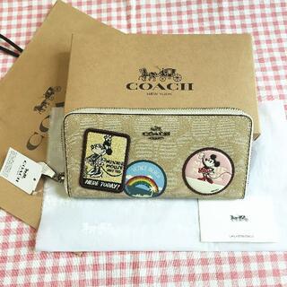 COACH - COACH長財布 COACH×Disneyコラボ F29380 アウトレット品