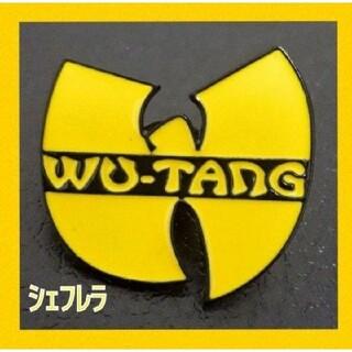 汎用性抜群★ Wu-Tang Clan ウータン クラン ロゴピンバッジ(その他)