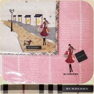 BURBERRY - BURBERRYハンカチ❄タオルハンカチ