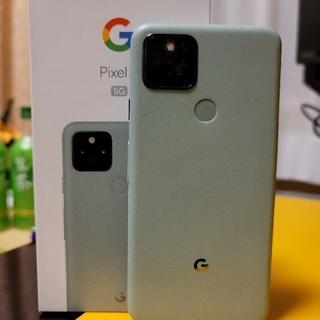 アンドロイド(ANDROID)のGoogle Pixel 5 Sorta Sage au版 SIMフリー(スマートフォン本体)