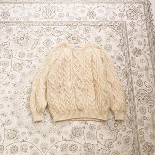 ロキエ(Lochie)のfisherman's knit(ニット/セーター)