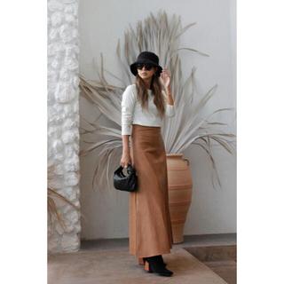 ルームサンマルロクコンテンポラリー(room306 CONTEMPORARY)のLeather Flare Skirt♡♥(ロングスカート)