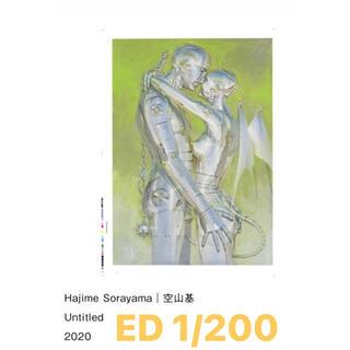 Hajime Sorayama 空山基 Untitled 2020 (絵画/タペストリー)