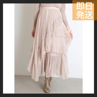 snidel - 即日発送★シアーボリュームプリーツスカート レディース スカート