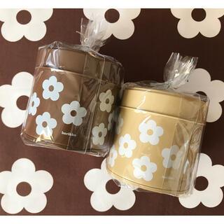 marimekko - harikko ハリッコ ★ アネモネのお花缶 2個セット