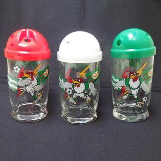 コカコーラ(コカ・コーラ)の【未使用非売品】オレオレグラス 3個 セット コップ グラス まとめて 日本製(グラス/カップ)