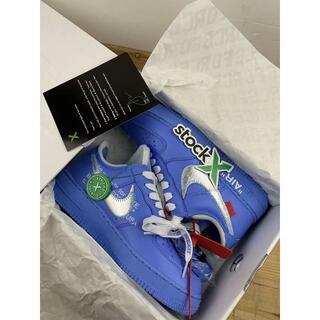 オフホワイト(OFF-WHITE)のOFF WHITE x Nike Air Force 1 MCA Blue(スニーカー)