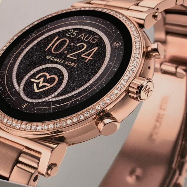 Michael Kors(マイケルコース)の【MICHAEL KORS】スマートウォッチ レディースのファッション小物(腕時計)の商品写真