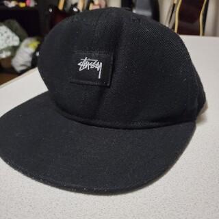 STUSSY - 【破格売り切れ御免】キャップ 帽子 STUSSY ステューシー ブラック 黒