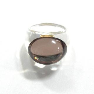 バカラ(Baccarat)のバカラ リング美品  - クリスタルガラス(リング(指輪))