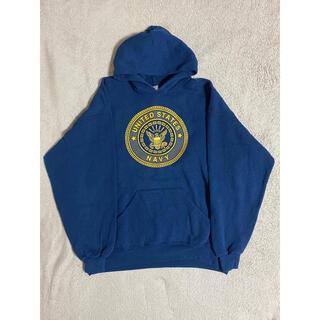 FEAR OF GOD - US NAVY '90s PT Seal Logo Vintage Hoodie