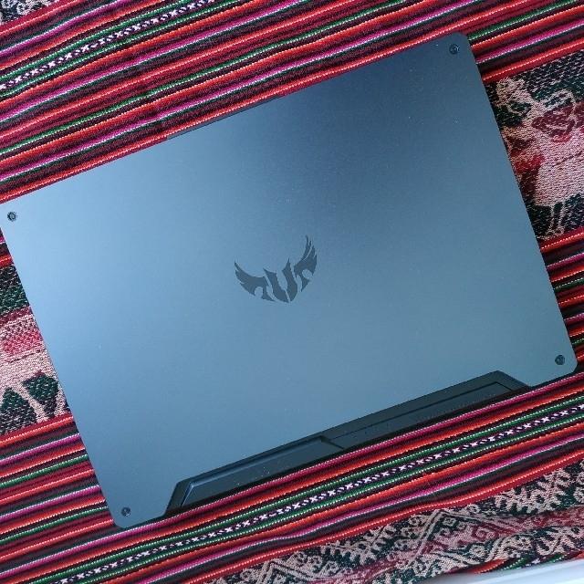 ASUS(エイスース)のASUS ゲーミングノートPC TUF Gaming A15 FA506II スマホ/家電/カメラのPC/タブレット(ノートPC)の商品写真