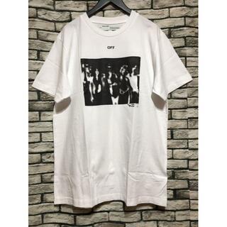 OFF-WHITE - オフホワイト★20SS スプレーペインティングアローオーバーサイズTシャツ