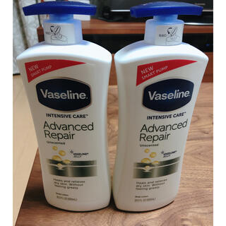 ヴァセリン(Vaseline)の Vaseline アドバンスドリペア ボディローション(ボディローション/ミルク)