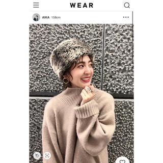 ジーナシス(JEANASIS)のJEANASIS ファーロシアン帽(その他)