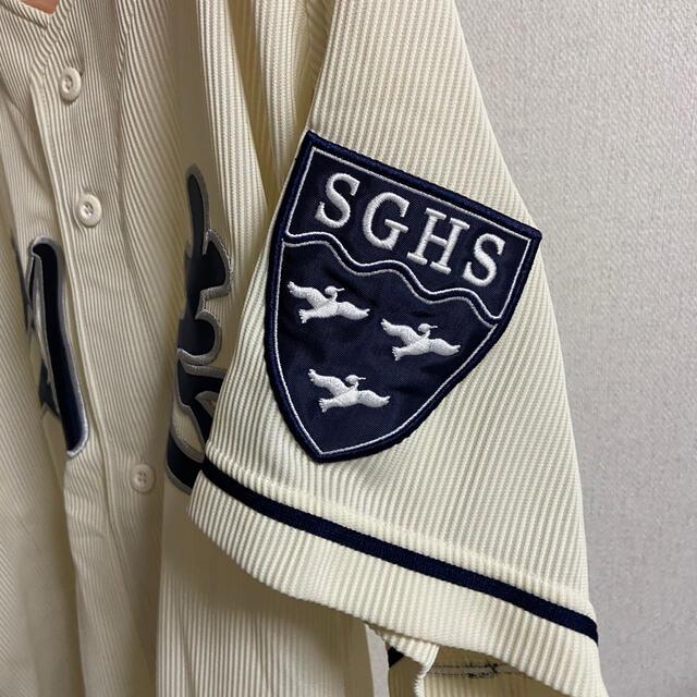 DESCENTE(デサント)の創志学園公式戦ユニフォーム スポーツ/アウトドアの野球(ウェア)の商品写真