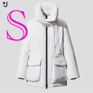 Jil Sander - ユニクロ +j  ハイブリッドダウンショートコート Sサイズ