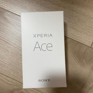 Xperia - SONY Xperia ACE simフリー 64GB ホワイト 新品未使用