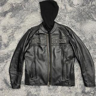 ハーレーダビッドソン(Harley Davidson)のハーレーダビットソン レザージャケット 革ジャン Mサイズ(ライダースジャケット)