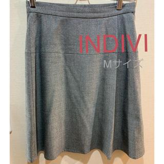 インディヴィ(INDIVI)のINDIVI スカート Mサイズ(ひざ丈スカート)