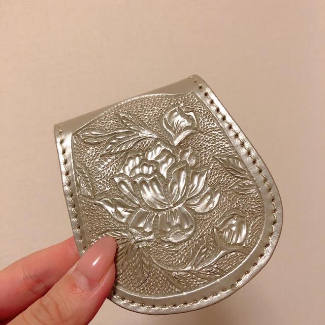 GRACE CONTINENTAL(グレースコンチネンタル)のカービング コインケース レディースのファッション小物(コインケース)の商品写真