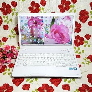 エヌイーシー(NEC)のWindows10/ホワイト/NEC/LaVie/CORE-I5/大容量/テンキ(ノートPC)