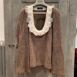 コムデギャルソン(COMME des GARCONS)のトリコ・コムデギャルソン 装飾ニット(ニット/セーター)