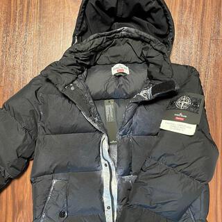 Supreme - 希少sサイズ supreme stone island down jacket