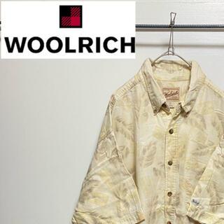 ウールリッチ(WOOLRICH)のWOOLRICH ウールリッチ 総柄 アロハ ボタンダウン シャツ(シャツ)
