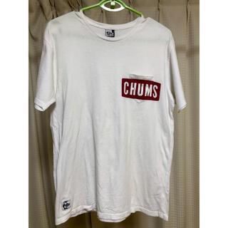 チャムス(CHUMS)の【専用】CHUMS    Tシャツ 白(Tシャツ/カットソー(半袖/袖なし))