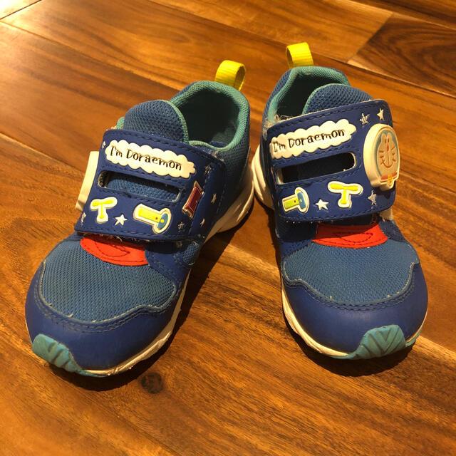 MOONSTAR (ムーンスター)のドラえもん  スニーカー 16センチ  キッズ/ベビー/マタニティのキッズ靴/シューズ(15cm~)(スニーカー)の商品写真
