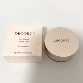 COSME DECORTE - コスメデコルテ フェイスパウダー 80番  glow  pink