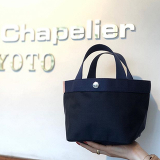 Herve Chapelier - エルベシャプリエ 新品 ネイビーネイビー 701