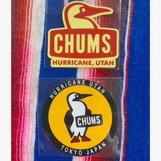 チャムス(CHUMS)の新品 CHUMS Sticker 2枚セット チャムス ステッカー z(その他)