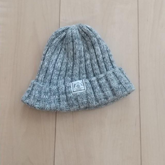 こどもビームス(コドモビームス)のBEAMS ニット帽 キッズ/ベビー/マタニティのこども用ファッション小物(帽子)の商品写真