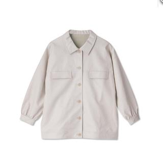 シマムラ(しまむら)のしまむら 合皮 OP ジャケット vivi 2pink  (ナイロンジャケット)