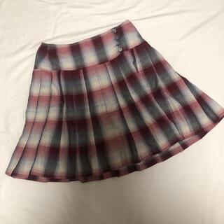 アニエスベー(agnes b.)のアニエスベー 巻きスカート ミニ 38 美品(ミニスカート)