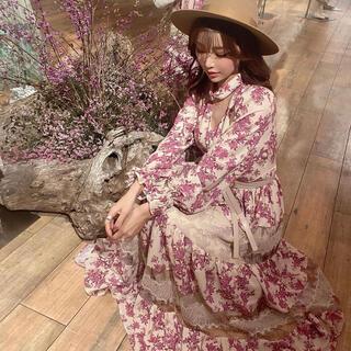 eimy istoire - eimy Donatella flower チョーカーネックワンピース
