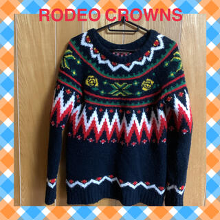 ロデオクラウンズ(RODEO CROWNS)のロデオ RODEO CROWNS  ニット ノルディック(ニット/セーター)